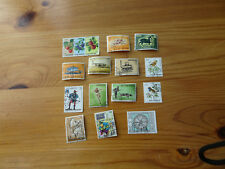 STAMPS SAN MARINO 16 ALL DIFFERENT / MIXTURE / COLLECTION