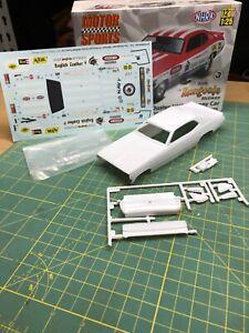Duster Funny Car Hard Body W Decals UNBUILT Revell 1:25 LBR MODEL PARTS Slot Car