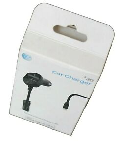 AT&T  car charger with USB -A  port   for iphone 7 , 8 & iphone X