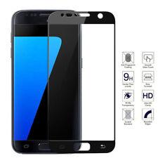 Negro 3D Full Cover De Vidrio Templado Film Protector de pantalla para Samsung Galaxy S7