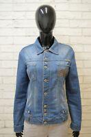 Giacca Jeans Donna Dolce&Gabbana Taglia M Giubbino Blu Giubbotto Jacket Woman
