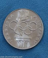 1976 Poland Silver 200 Zlotych Uncirculated Coin XXI Olympics