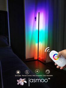 Jasmoo™ Modern RGB Lamp - Minimalist LED Corner Floor - Remote Control