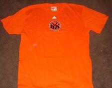 NBA Knicks Orange Short Sleeve T Shirt L 2014