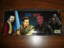 """Star Wars---Episode-1---Pencil Case With Zipper---8"""" Wide"""