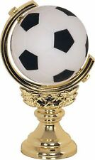 Spinning Soccer Trophy Sport Award Team Game School Low Shipping-#Xt245