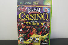 Bicycle Casino  (Xbox, 2004) *Tested/Complete