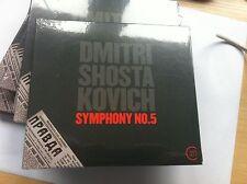Dmitry Shostakovich Symphony No. 5 (2012) BRAND NEW SEALED CD