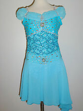 CUSTOM MADE TO FIT ICE SKATING /DANCING /BATON /TWIRLING COSTUME