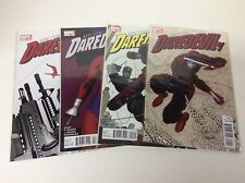 DAREDEVIL #1-4 (MARVEL/2011/VOL3/WAID/RIVERA/0618585) COMPLETE SET LOT OF 4