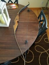 "Martin X200 recurve bow  by Howatt 60' 45# @ 28"" with 6 Gamegetter arrows"