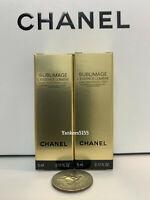2 x NIB Chanel Sublimage L'essence LUMIERE Concentrate Serum 5ml / 0.17oz each