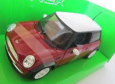 Mini Cooper / Modellauto / Nex Models / Rot / 1:24 / Welly / Neu / OVP