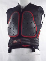 UFO Body Armour – Back, chest, hip protection – Mesh – Black and Orange
