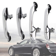 Outer Door Handle Chrome Fit For Chrysler 300C 05-10 Dodge Magnum 05-08 Exterior