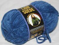 Lion Suede Spice 3 oz each Lion Brand Yarn 1 skein