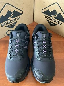 Saucony Peregrine Ice+ Women's Black/Lavender NEW $150; now $99 SHIPS FREE