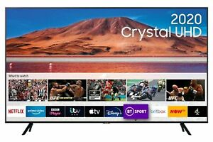 Samsung 75 4k Ultra HD HDR Smart TV UE75TU7100 | Apple TV | Disney + | Now TV