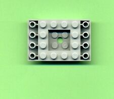 Lego--30183-- Dachstein-- Double Inverdet -- 6 x 4  45 °  -- Grau/OldGray -