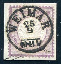 DR 1872 16 gestempelt WEIMAR vorzüglich KLAR (J9089
