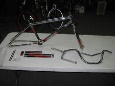 Redline ST20 Frame, Fork, Bars and decals Stu Thompson