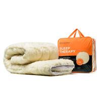 MiniJumbuk Sleep Therapy Australian Wool Mattress Topper Underblanket Underlay