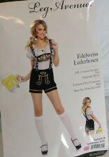 German Beer Girl Costume Adult 2 pc Woman's Medium Halloween Oktoberfest