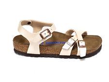 Birkenstock sandali donna Kumba graceful pearl white n°36