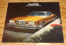 Original 1974 Pontiac Grand Ville Sales Brochure 74