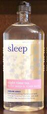 NEW BATH & BODY WORKS AROMATHERAPY SLEEP NIGHT TIME TEA WASH SHOWER GEL FOAM HTF