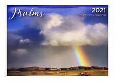 Psalms - 2021 Rectangle Wall Calendar 16 Months by artwrap (b)