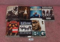 7 Classic Hip Hop Rap Cassette Tapes 2Pac-Westside Connection-The Notories BIG.