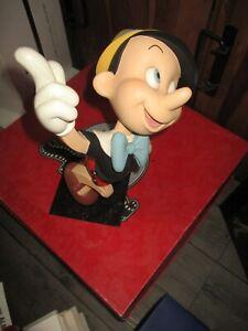 Leblon Delienne&Disney-Ancienne sculpture Pinocchio-Grand format-1994