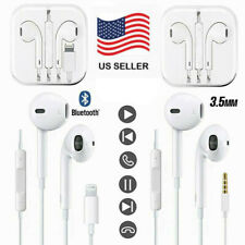For Apple iPhone5 6 7 8 Plus XS XR 11 Pro Wired Headphone Headset Earbuds