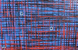 Modernist LARGE ABSTRACT PAINTING Expressionist MODERN ART NOBLE ONES FOLTZ $