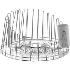 A Tempo Stainless Steel Dish Drainer by Pauline Deltour for Alessi New