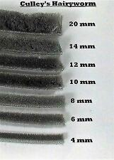 CULLEYS~THEHAIRYWORM SEAL, BRUSH STRIP PILE DOORS OR WINDOWS ALL SIZES 4-20 MM