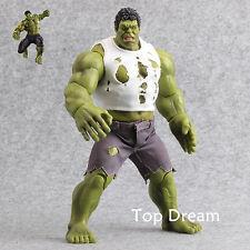 RARE Incredible Hulk Action Figure Toy Marvel Avengers Model Doll 10'' Xmas Gift