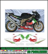 kit adesivi stickers compatibili  rsv 1000 r tricolor lyon rr