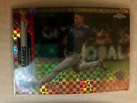 2020 Topps Chrome Xfractor Refractor Willy Adames #179 Tampa Bay Rays SP Insert