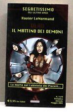 VLAD: IL MATTINO DEI DEMONI - X.LeNormand [Segretissimo gli ultimi eroi n.1479]