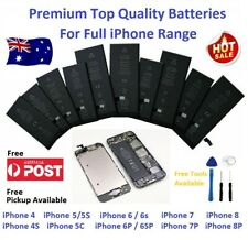 Premium Full Capacity OEM Battery Replacement for iPhone 4, 5, 6, 7 and 8  Local