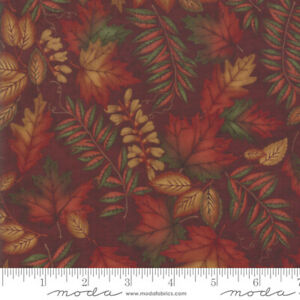 FABRIC Moda ~ COUNTRY CHARM ~ Holly Taylor (6791 16) END OF BOLT - 23 inches