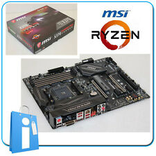 Placa base ATX Ryzen MSI X370 GAMING PRO CARBON ddr4 Socket AM4 con Accesorios
