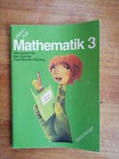 Mathematik 3 Übungsheft für das tägliche 5-Minuten-Training