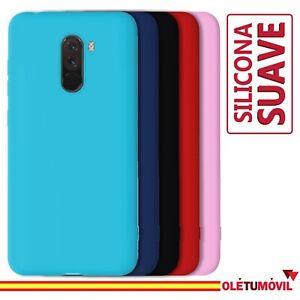 Funda Xiaomi Pocophone F1 Carcasa Silicona Suave Flexible
