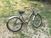 Vintage  Girls Road Master Deluxe Satelite Bicycle 21in 1950s