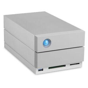 LaCie STGB8000400 2big 8TB Dock Thunderbolt 3 Desktop Grey Hard Disk Array