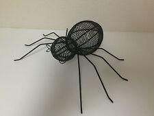 Cute Halloween Metal Wire Spider Prop Floor Table Top Decor Decoration - Black