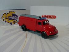 """Wiking 0610 02 - Magirus S 3500 Rundhauber rot """" Feuerwehr Spritzenwagen """" 1:87"""